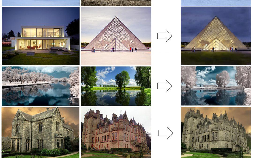 انویدیا: بازآفرینی یک تصویر با استفاده از سبک تصویر دیگر